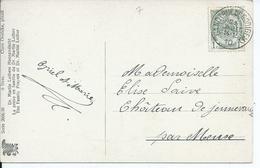 Fantasiekaart Met OCB 81 - Afstempeling GAND(RUE DE ROOIGEM)  Type 1L - COBA 8 - 1893-1907 Wapenschild