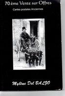 Livre : Catalogue De La 71 Vente R.del Balzo ( En L'état ) - Books