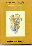 Livre : Catalogue De La 69 Vente R.del Balzo ( En L'état ) - Books