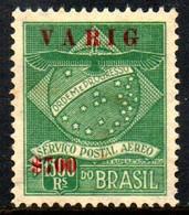 Brasil V 1 Varig Emissão Provisória N - Poste Aérienne (Compagnies Privées)