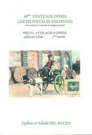 Livre : Catalogue De La 68 Vente R.del Balzo ( En L'état ) Uniquement Voitures à Chiens - Books