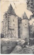Le Château D' Ham-sur-Heure - échafaudage - 1909 - Châteaux