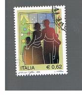 ITALIA REPUBBLICA  -  2005 NATALE - USATO ° - 6. 1946-.. Repubblica