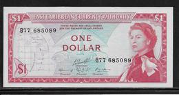 Caraïbes - 1 Dollar - Pick N°13f - NEUF - Caraïbes Orientales