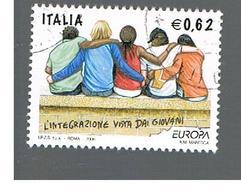 ITALIA REPUBBLICA  -  2006 EUROPA   - USATO ° - 1946-.. République