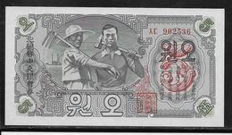 Corée Du Nord - 5 Won 1947 - NEUF - Corée Du Nord