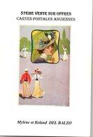 Livre : Catalogue De La 57 Vente R.del Balzo ( En L'état ) : - Books