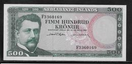 Islande - 500 Kronur - Pick N°45 - NEUF - Iceland