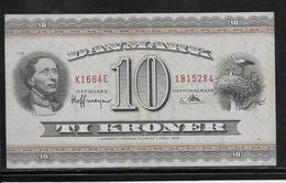 Danemark - 10 Kroner - Pick N°44 - SUP - Danemark