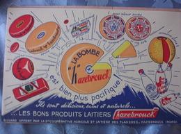 La Bombe Hazebrouck - Buvards, Protège-cahiers Illustrés