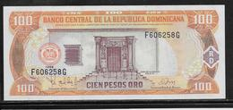 Dominicaine - 100 Pesos - Pick N°156b - NEUF - Dominicaine