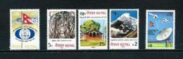 Nepal  Nº Yvert  381-384/6-389  En Nuevo - Nepal