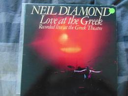 Neil Diamond- Love At The Greek Theatre  (2LP)) - Rock