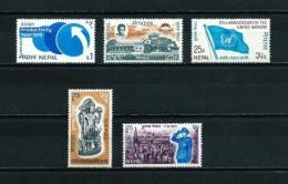 Nepal  Nº Yvert  223/4-227-233-235  En Nuevo - Nepal