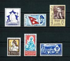 Nepal  Nº Yvert  180/2-190-195/6  En Nuevo - Nepal