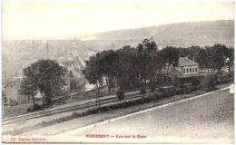 70 HERICOURT  - Vue Sur La Gare - Otros Municipios