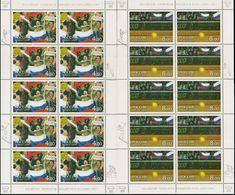 Russia, 2003, Mi. 1061-62, Sc. 6749-50, SG 7160-61, Davis Cup Tennis Championships, MNH - 1992-.... Federatie
