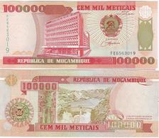 Mozambique - 100000 Meticais 1993 UNC Ukr-OP - Mozambique