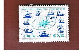 ITALIA REPUBBLICA  -   2005  IPSEMA           -   USATO  ° - 6. 1946-.. Repubblica