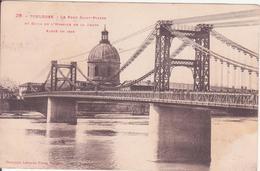 CPA - 26. TOULOUSE Le Pont St Pierre, Et Dôme De L'hospice De La Grave....... - Toulouse