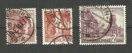 Berlin N°14, 23, 44 Cote 3.60 Euros - Oblitérés