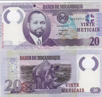 Mozambique - 20 Meticais 2011 UNC Ukr-OP - Mozambique