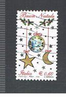 ITALIA REPUBBLICA  - UNIF. 3187 -  2009  NATALE     - USATO - 2011-...: Usati
