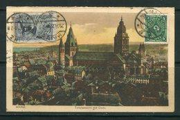 ALLEMAGNE- Carte Postale De 1922 - Briefe U. Dokumente