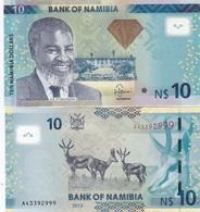 Namibia - 10 Dollars 2013 UNC Ukr-OP - Namibië