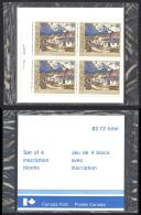 Canada Sc# 887 MNH PB Set/4 (SEALED) 1981 17c Canadian Painters - 1952-.... Règne D'Elizabeth II