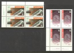 Canada Sc# 1092-1093 MNH PB UL 1986 34c-68c EXPO 86 - 1952-.... Règne D'Elizabeth II