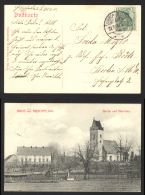 Germany Sc# 82 Postcard Hirschfeldau>Berlin 1910 9.21 Germania - Lettres & Documents