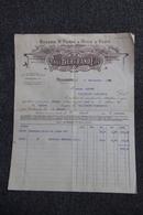Facture Ancienne, PELISSANNE - Huilerie ST PIERRE à L'huile D'Olive, Paul BERTRAND Fils. - Francia