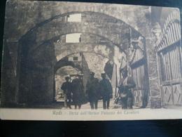 Rodi Atrio Antico Palazzo Dei Cavalieri Usata 1924 A Napoli - Italia