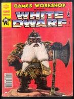 WHITE DWARF - GAMES WORKSOP - LE N° 1 DU MAGAZINE - DECEMBRE 1992 - COLLECTOR - LE PREMIER NUMERO COMPLET - Figurines