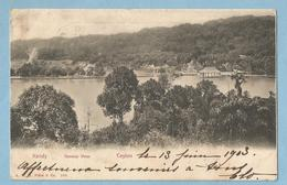 F0019  CPA  CEYLAN   SRI-LANKA  Ceylon  -  KANDY  General View  1903  ++++++ - Sri Lanka (Ceylon)