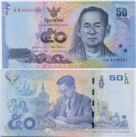 THAILAND       50 Baht       P-131      ND (2017)        UNC  [ Sign. 87 ] - Tailandia