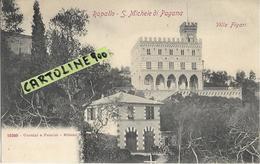 Liguria-genova- S.michele Di Pagana Frazione Di Rapallo Veduta Villa Figari - Altre Città
