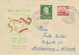 BRD 149,152 Auf Portogerechtem Auslandsbrief - Briefe U. Dokumente