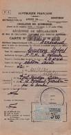MINERVA MOTORS 1931 /   Recipissé  Declaration Mise En Circulation  Vehicule A Moteur / PREF 66 - Auto's