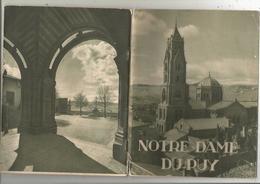 Régionalisme , Auvergne ,NOTRE DAME DU PUY , 37 Pages Dont 17 Pages De Photos,1942 ,  4 Scans , Frais Fr 2.85 E - Auvergne