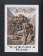 Dt. Reich PK Gebirgs-Jäger-Regiment 98 Mittenwald - Guerre 1939-45