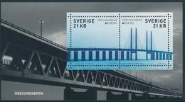 """SWEDEN/Schweden, EUROPA 2018 """"Bridges"""" Minisheet** - 2018"""