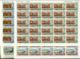 1970 1971 Jersey  DEFINITIVA DECIMALE Definitives Decimal 25 Serie Di 15v. (C/U. 28/42) MNH** - Jersey