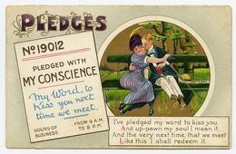 COMIC : PLEDGES - ROMANTIC COUPLE - Comics