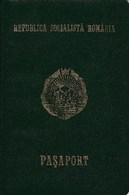 Romania, 1990, Expired Passport (RSR Type) - No Visas & Stamps - Documentos Históricos