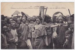 Asie - Laokai-Hokéou - Malfaiteur Crucifié Et étranglé à Hokéou - Frontière Chinoise D'après La Règle Des Suppliciés En - Cina