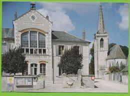 SURGY - La Mairie L'Ecole Et L'Eglise - France