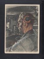 Dt. Reich PK Panzerfahrer 1945 Gelaufen - Weltkrieg 1939-45