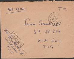 N. VIETNAM  MILITARY COVER From POSTE AUX ARMEE 403 (Hanoi) To  POSTE AUX ARMEE 609  See 2 Scans - Viêt-Nam